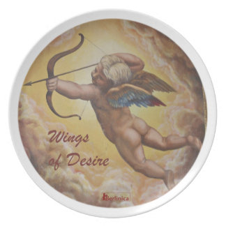 Wings of Desire — Angels of Berlin Melamine Plate