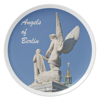 Wings of Desire —Angels of Berlin Party Plates