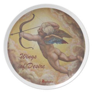 Wings of Desire —Angels of Berlin Dinner Plates