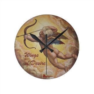 Wings of Desire —Angels of Berlin Round Clock