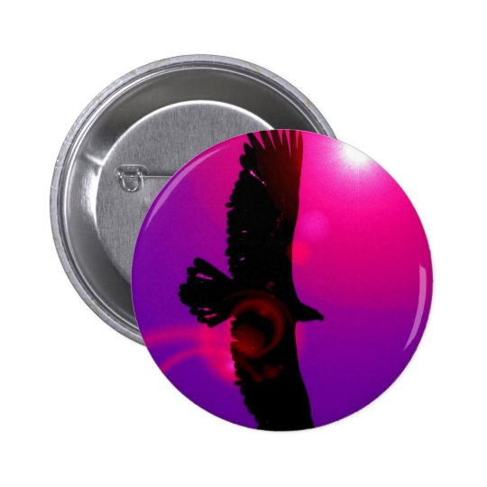 Wings of Eagle Button