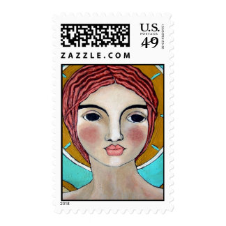 Wings of Eagles Angel Postage Stamps