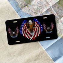 WINGS OF EAGLES LICENSE PLATE