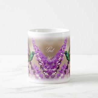 Wings of Faith Sparkling Violet-ears Hummingbird Coffee Mug