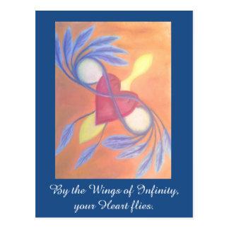 Wings of Infinity postcard