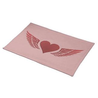 Wings of Love custom placemat