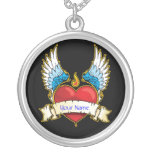 Wings of Love Personalized Necklace
