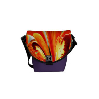 Wings of Orchid 2013 Girly Floral New Years Messenger Bag