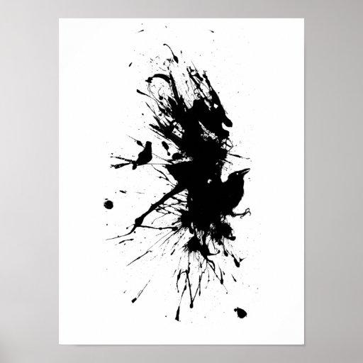 Wings of Paint Print
