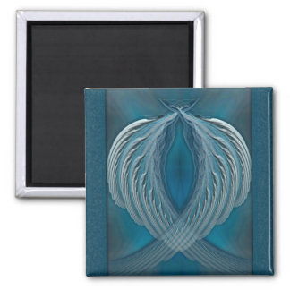 Wings of Peace Abstract Art Fridge Magnet