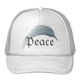 Wings of Peace Abstract Art Trucker Hat