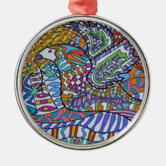 Wings Of Peace Christmas Ornament