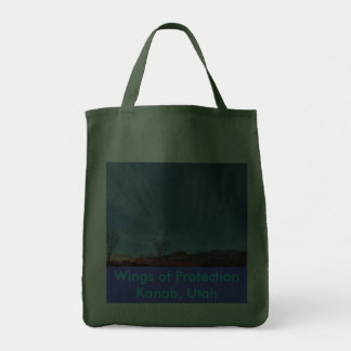 Wings of ProtectionKanab, Utah Tote Bags