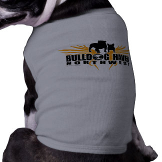 WINGS OF RESCUE (by Bulldog Haven NW) Dog Tee