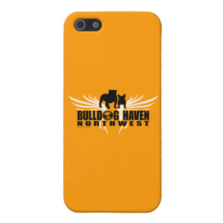 WINGS OF RESCUE (by Bulldog Haven NW) on orange Case For iPhone SE/5/5s