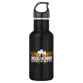 WINGS OF RESCUE (by Bulldog Haven NW) 18oz Water Bottle