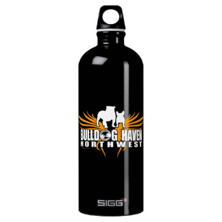 WINGS OF RESCUE (by Bulldog Haven NW) Water Bottle