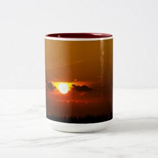 Wings of the Sun Sunset Mug
