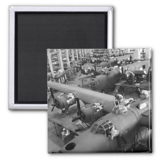 Wings of War: Early 1940s 2 Inch Square Magnet