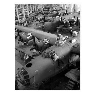 Wings of War: Early 1940s Postcard