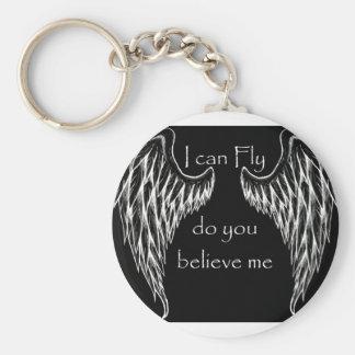 wings on me key chain
