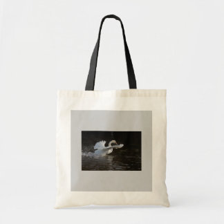 Wings Outstretched Swan Tote Bag