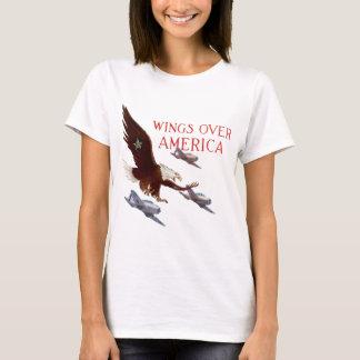 Wings Over America - USA WW2 T-Shirt