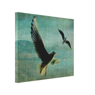 Wings over the World Canvas Print