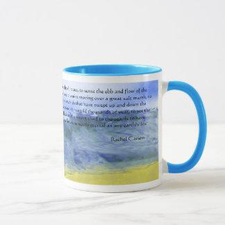 Wings over water | mug