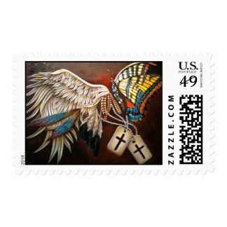"""""""Wings"""" Postage Stamp"""