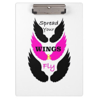 Wings quote Spread Your Wings and Fly Clipboard