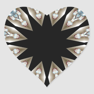 Wings Series by CGB DigitalArt framed.jpg Heart Sticker