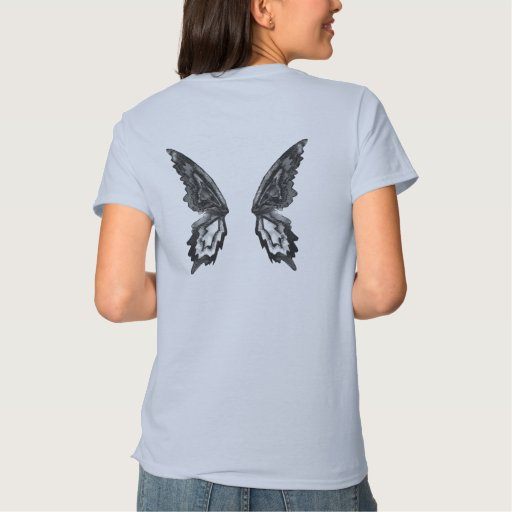 Wings (shirt back) t shirt