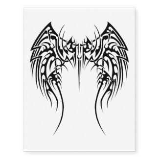 wings temporary tattoo