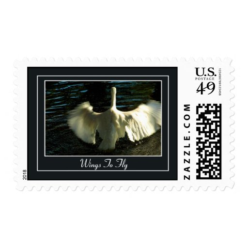 Wings To Fly Stamp