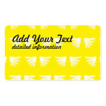 Wings White Yellow Business Card Template