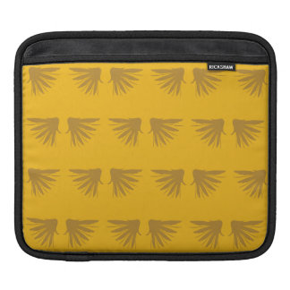 Wings yellow sleeves for iPads