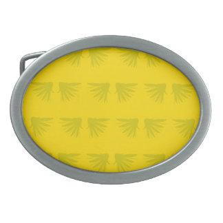 Wings Yellows Belt Buckle
