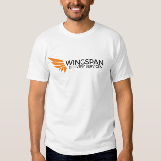 WINGSPAN Delivery Services logo t-shirt