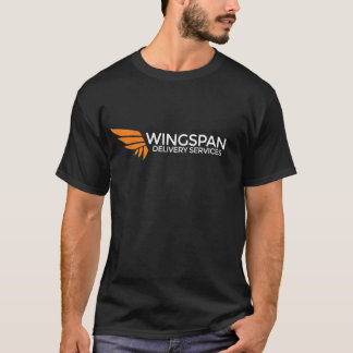 WINGSPAN Delivery Services logo tee (dark)