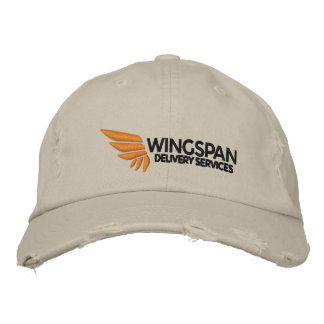 WINGSPAN Logo Rugged Cap Embroidered Hat