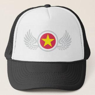 wingstar trucker hat