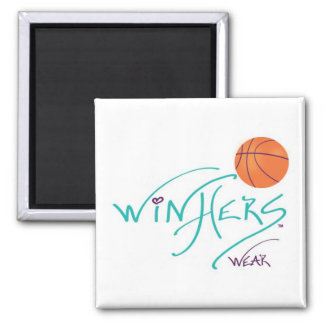 winHers wear - It's What All Women Are 2 Inch Square Magnet