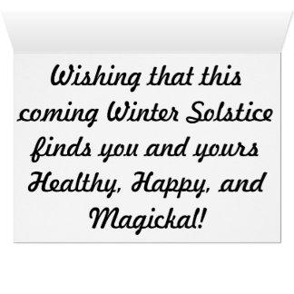 Winiter Solstice Greeting Cards