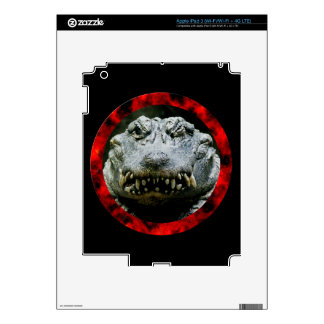 Wink and a Smile (Chinese Alligator) Decals For iPad 3