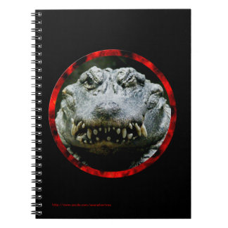 Wink and a Smile (Chinese Alligator) Notebook
