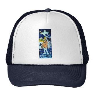 Wink and Zinc Trucker Hat