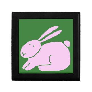 Wink bunny trinket box
