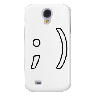 Wink face galaxy s4 cover