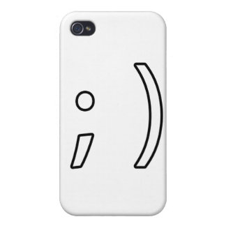 Wink face iPhone 4/4S cover